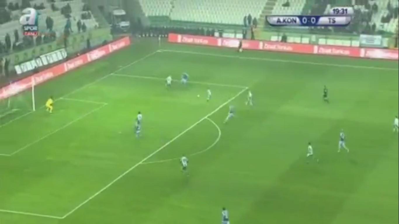 27-12-2017 - Konyaspor 1-0 Trabzonspor (ZIRAAT CUP)