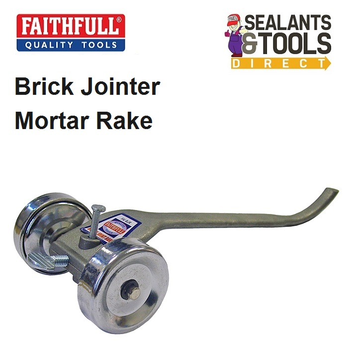 Faithfull Brick Mortar Jointer Pointing Rake FAIBJR