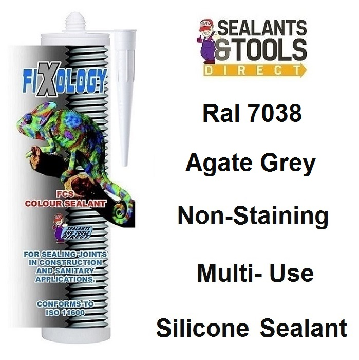 Ral 7038 Coloured Non Staining Silicone Sealant
