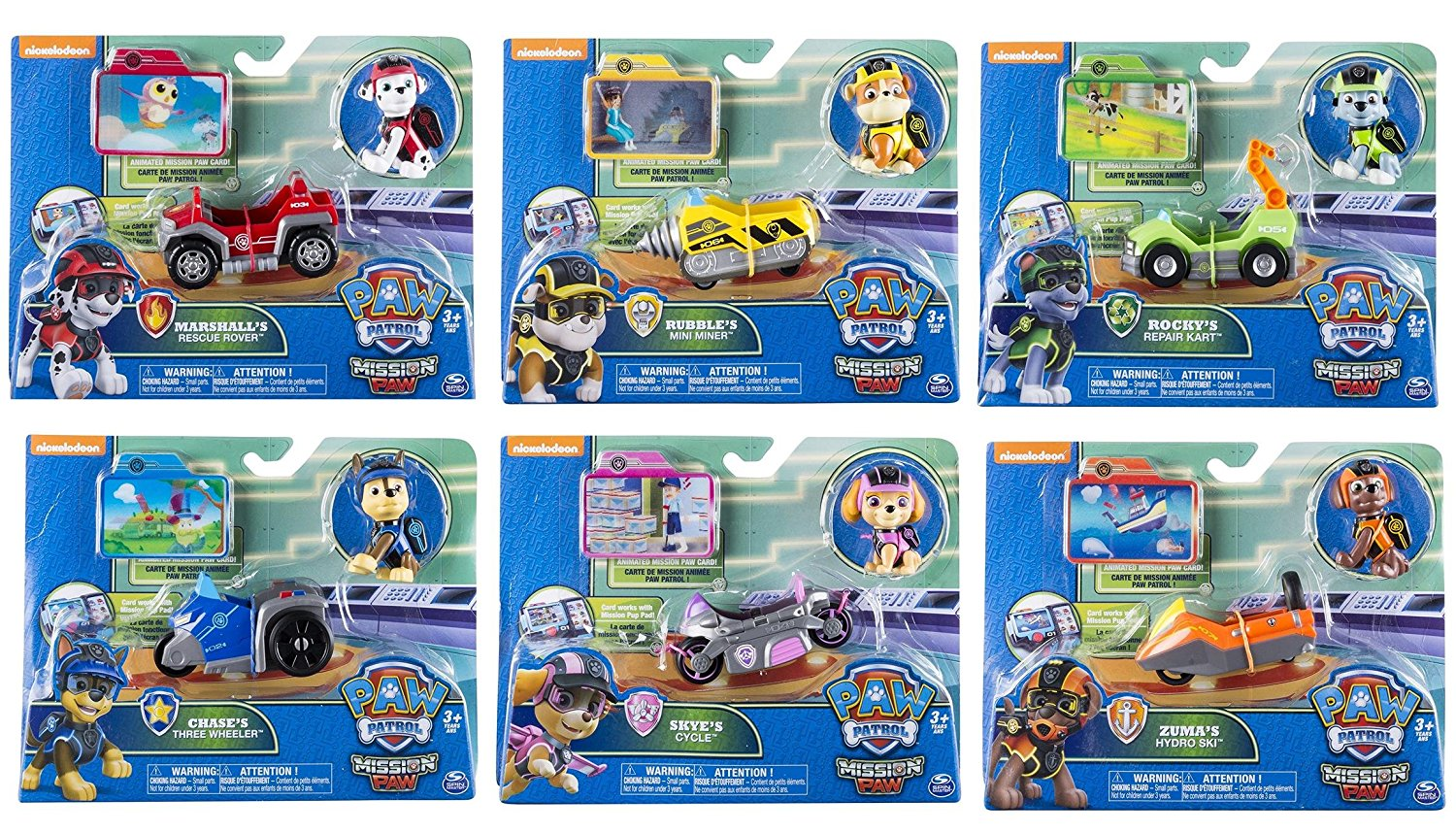 Great These Mini Vehicles Are Must Have. Not Only Do You Have The Paw Patrol  Mission Paw Mini Vehicles, Which Not Only Can Be Used On Their Own, But  They Are The ...