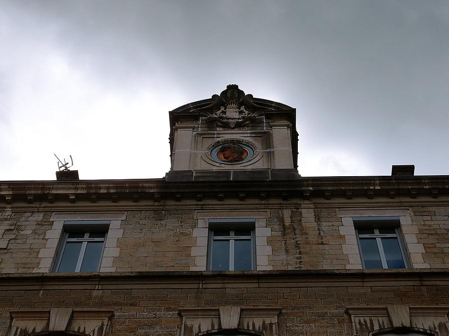 Лон-ле-Сонье - маленькая жемчужина восточной Франции. Фотографии.