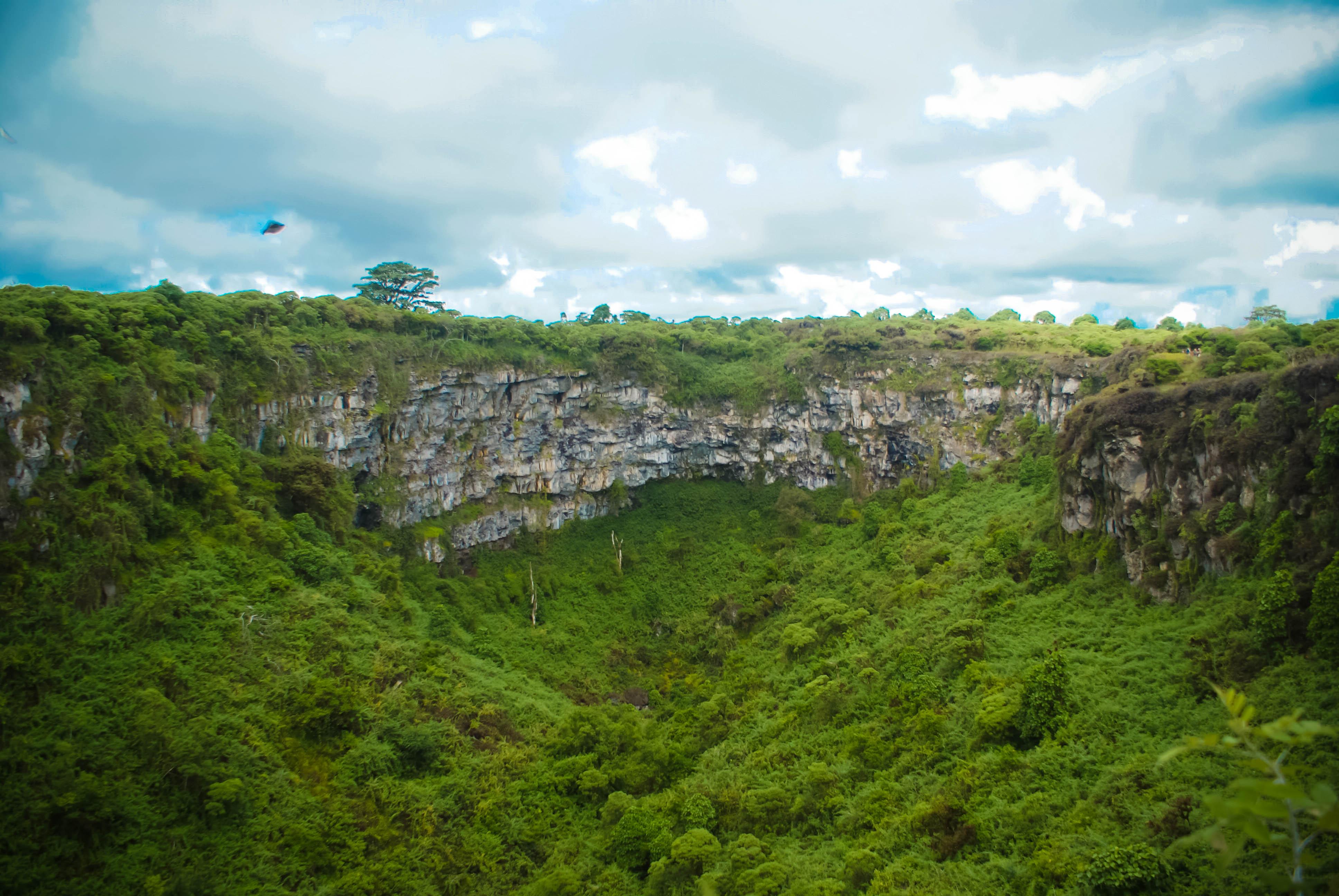 Los Gemelos - Isla Santa Cruz