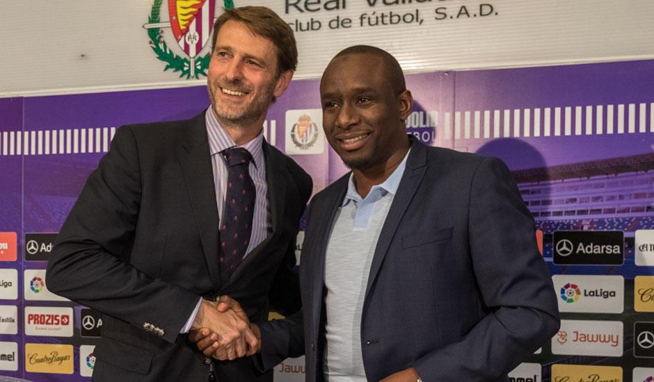 El Real Valladolid creará escuelas en Senegal 9687n_suarez