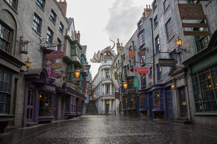 Diagon Alley Wizarding World of Harry Potter Universal Studios Florida