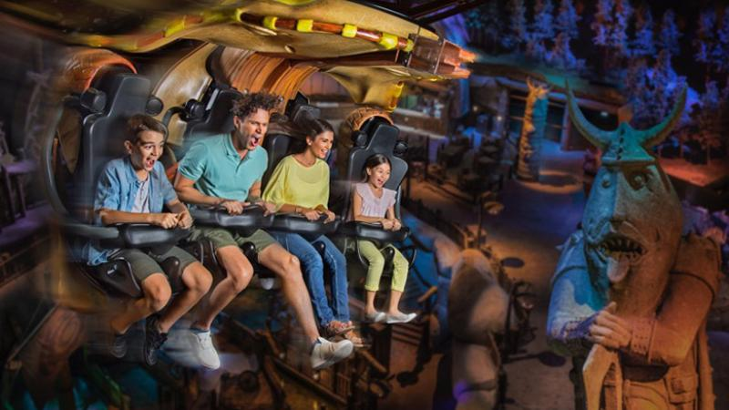 Dragon Gliders at Dubai Parks and Resorts