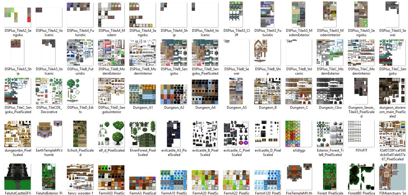 1350 Tilset varié (VX ACE et pour MV) Image8