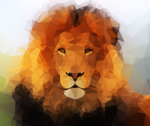 Low_Poly_Lion