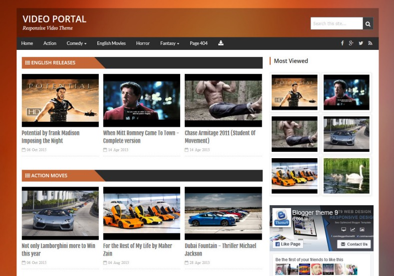 Video_Portal_Blogger_Template