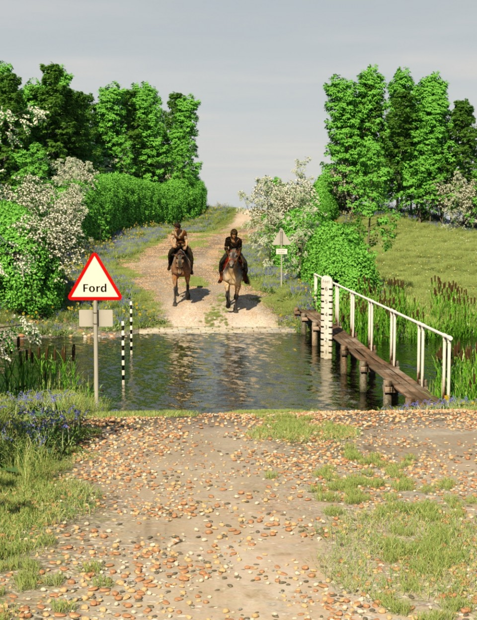 Country Ford for Daz Studio