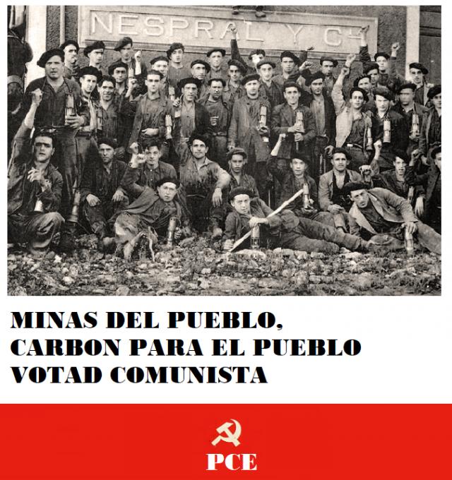 [PCE] Carteles de la campaña electoral del PCE Cartel_2