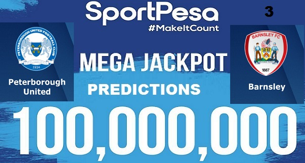 Sportpesatips - Peterborough vs Barnsley Predictions & H2H:: Sportpesa Mega Jackpot Predictions