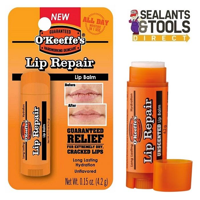 O'Keeffes Lip Repair & Protection Lip Balm Unscented GRGOKLRU