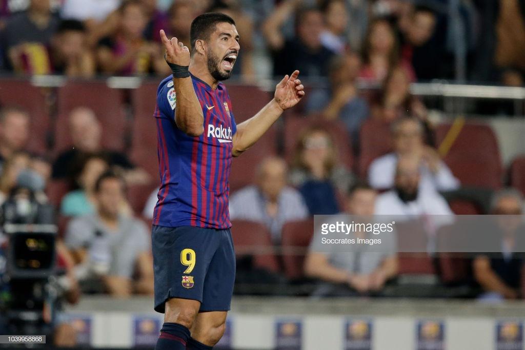 صور مباراة : برشلونة - جيرونا 2-2 ( 23-09-2018 )  L