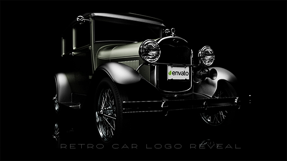 Videohive Retro Car Logo Reveal 18831575