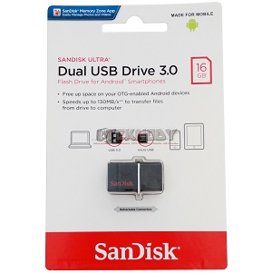 FLASHDISK SANDISK 16GB 3.0 OTG