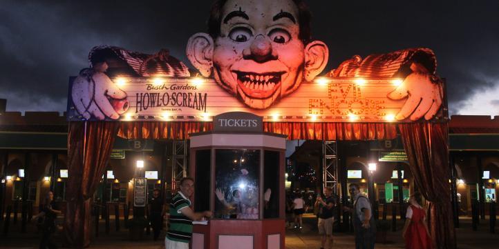 Busch Gardens - Howl-o-Scream