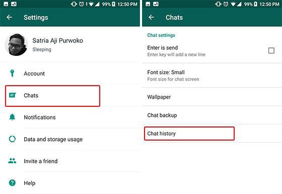 Cara Mengetahui via Menu Email Chat Langkah 2