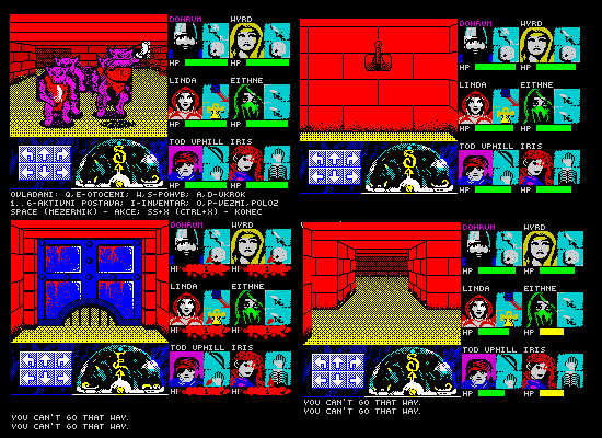 Zx Dungeon, an unfinished engine/game from 2017 - Spectrum