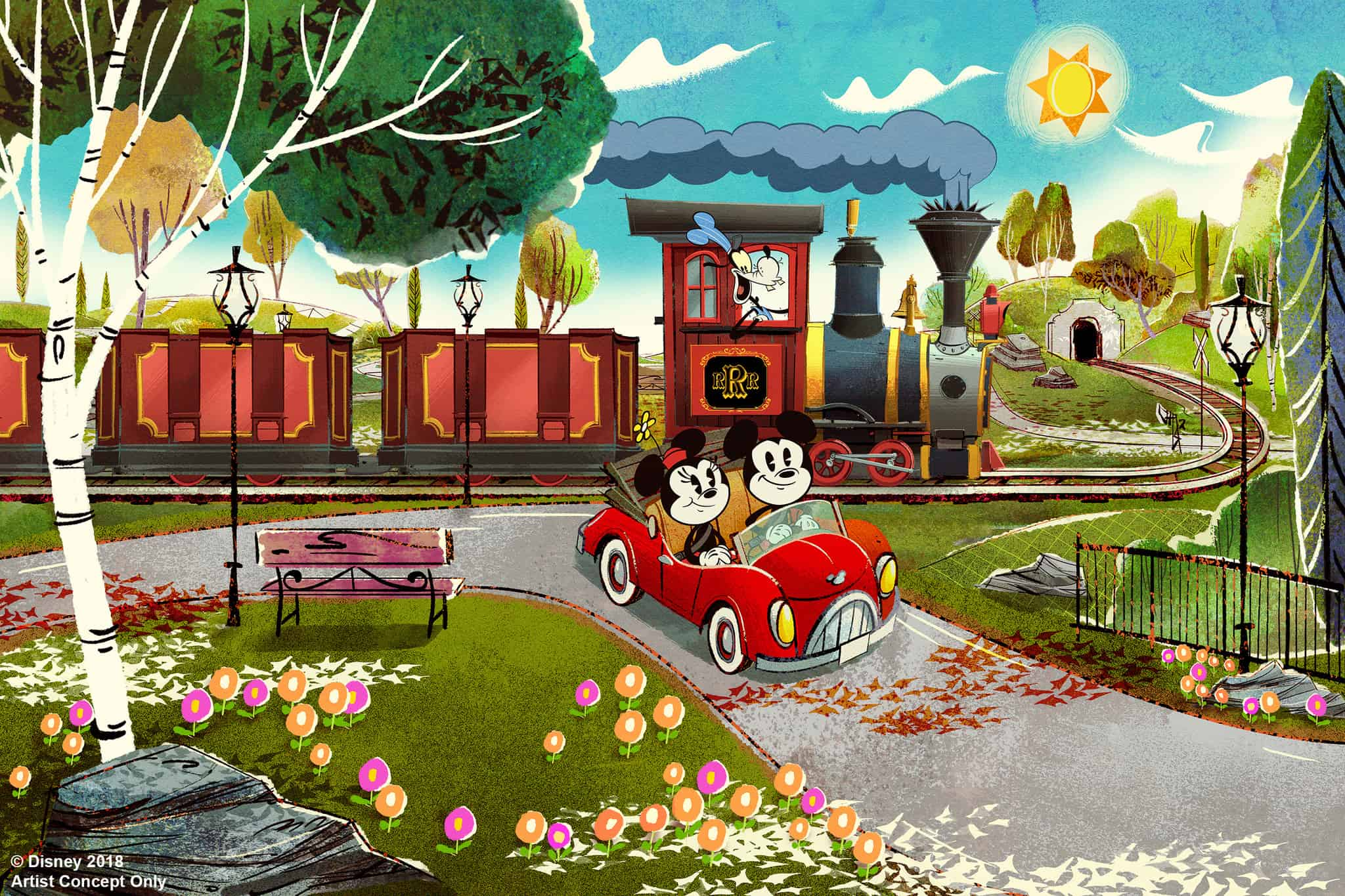New Orlando Attractions Mickey and Minnie Runaway Railway