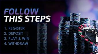 Register | Deposit | Play & Win | Withdraw