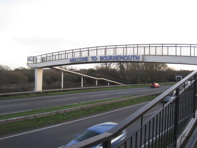 Foot Bridge A338 Wessex Fields