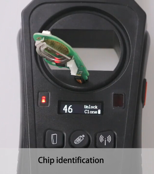 KEYDIY KD-X2 4A chip identification