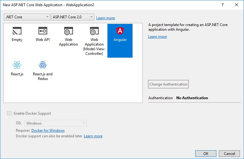 Scaffolding for Angular and MVC Net? | The ASP NET Forums