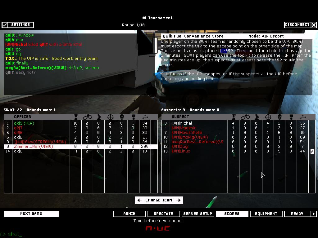 qR| vs |WM| - 2nd Semifinal ~ 6 - 3   Shot00008
