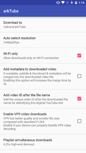 arkTube the ultimate YouTube downloader 6.0 (Patched) APK