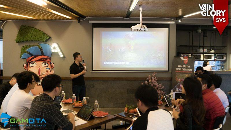 cộng đồng vainglory, game esports, game moba, game mobile, họp báo, trải nghiệm, vainglory, vainglory 5v5, vainglory việt nam