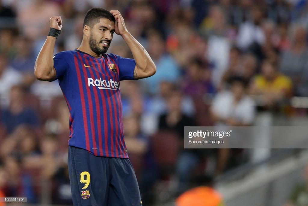 صور مباراة : برشلونة - جيرونا 2-2 ( 23-09-2018 )  Ll