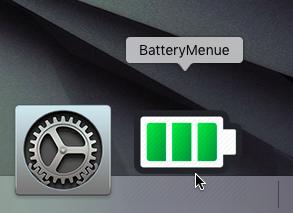 BatteryMenue 1