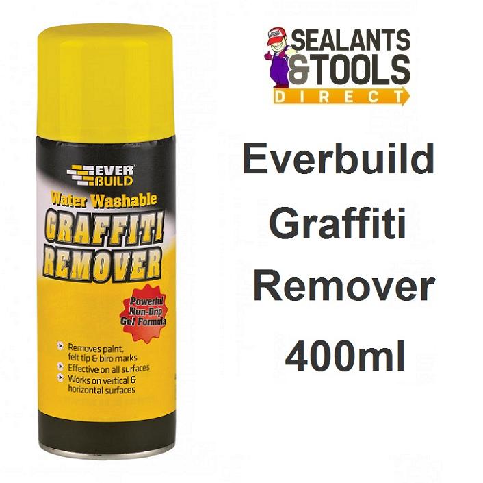 Everbuild Graffiti Remover Spray 400ml GRAFF