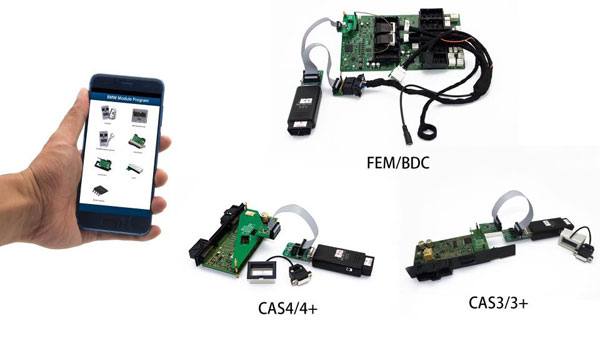 BMW CAS4/FEM/BDC/16OBDWT