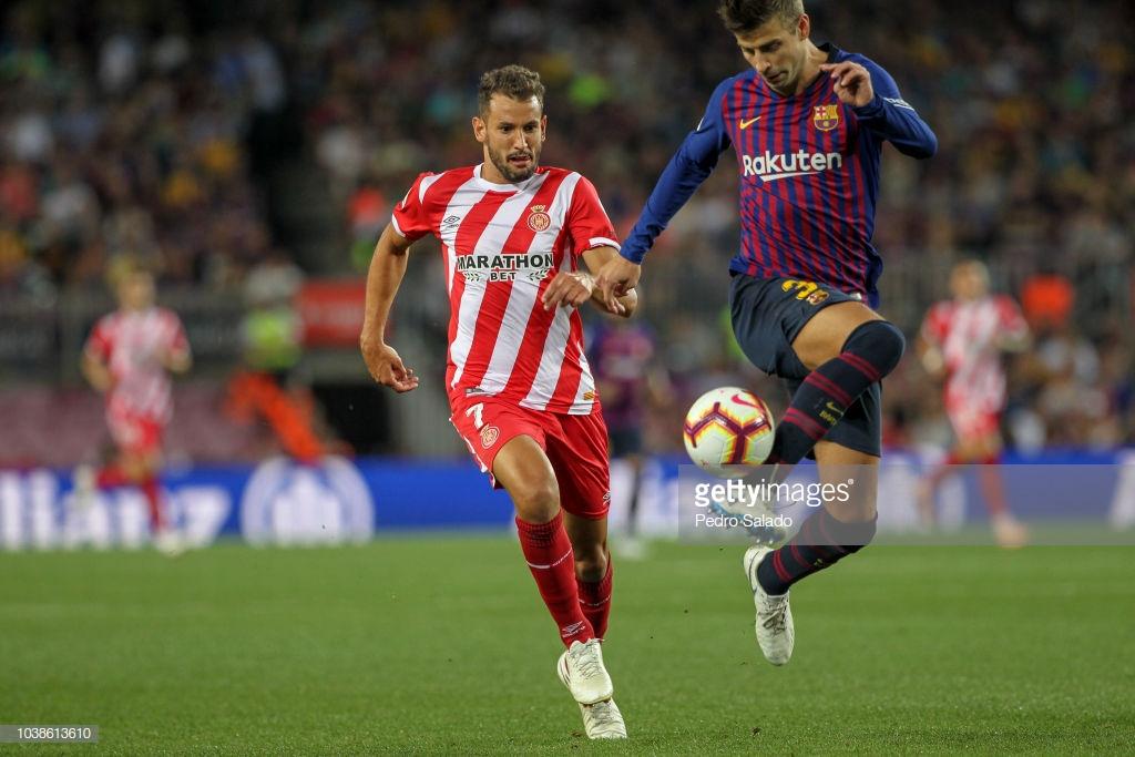 صور مباراة : برشلونة - جيرونا 2-2 ( 23-09-2018 )  P