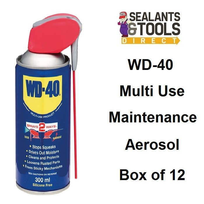 WD40 Spray 300ml Box of 12