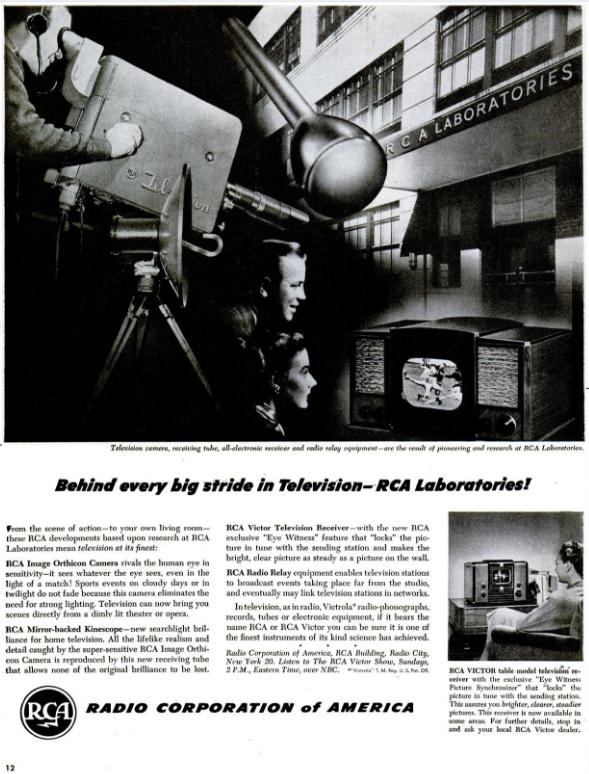 RCA Advertisement December 30 1946