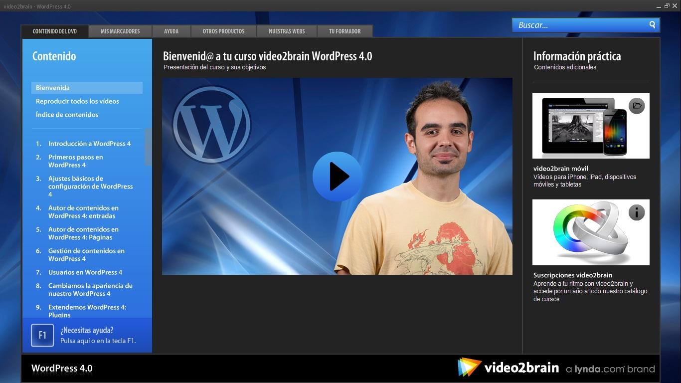 Curso: Descubre WordPress 5 [Torrent]