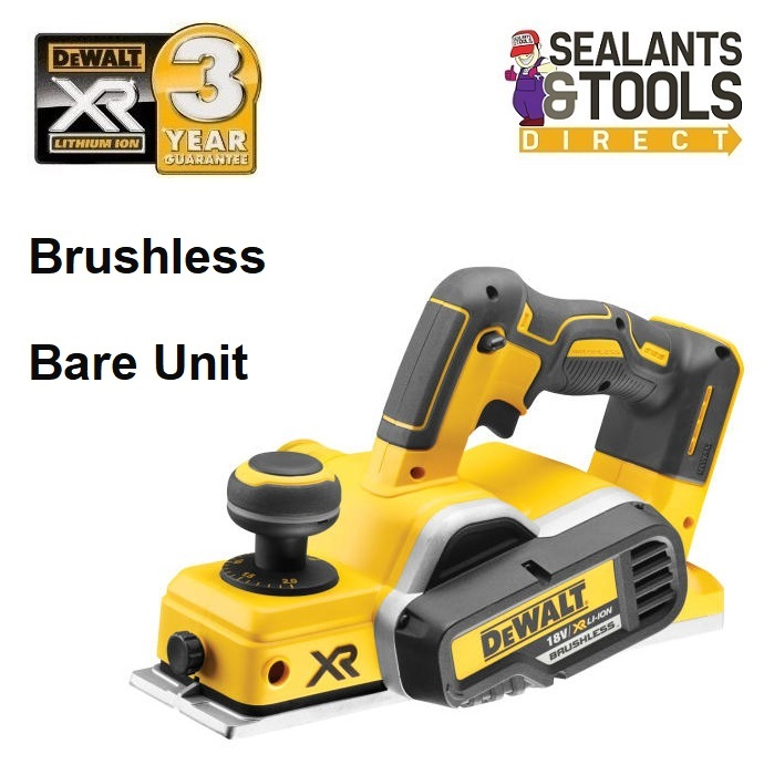 Dewalt DCP580N XR Cordless Wood Planer 18v Brushless Bare Unit
