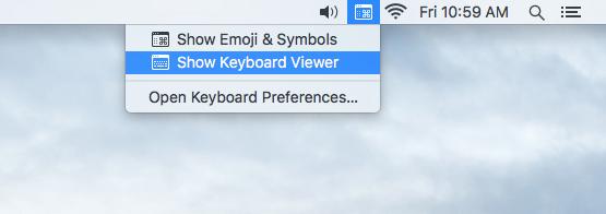 keyboardmenu