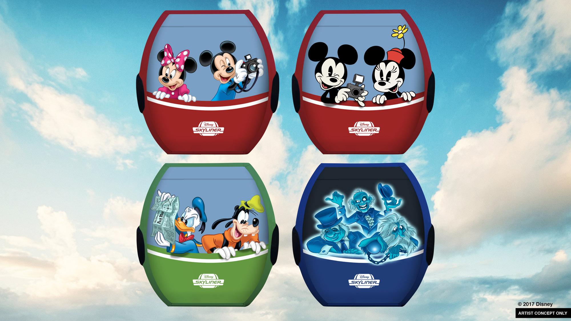 Disney Skyliner at Walt Disney World