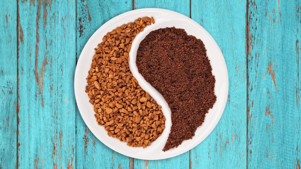 kawa rozpuszczalna mielona i ziarnista
