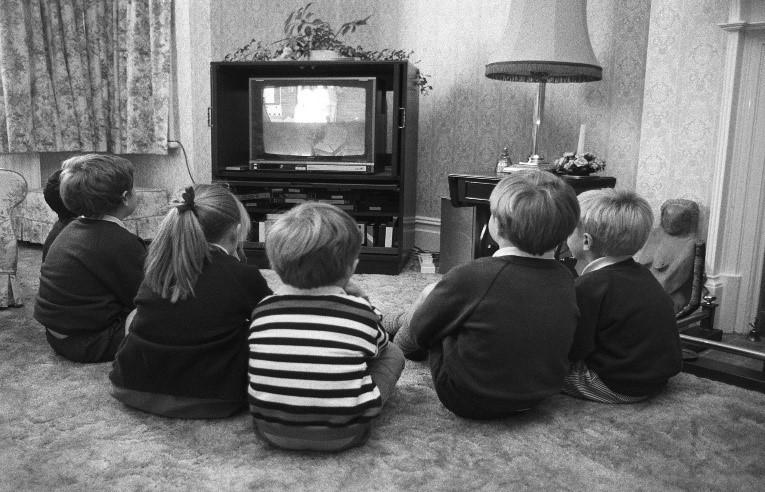 Old days Televison