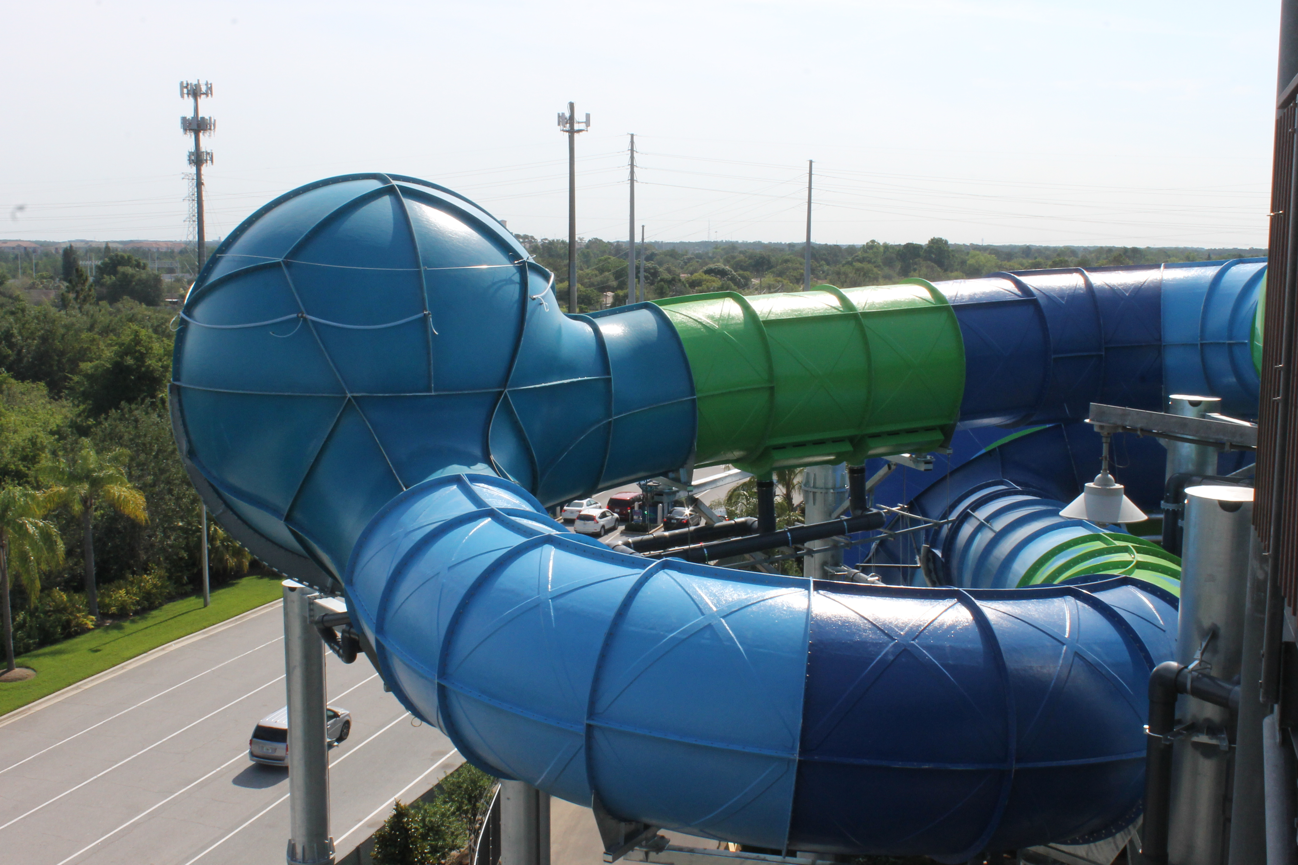 Ray Rush Aquatica Halfpipe