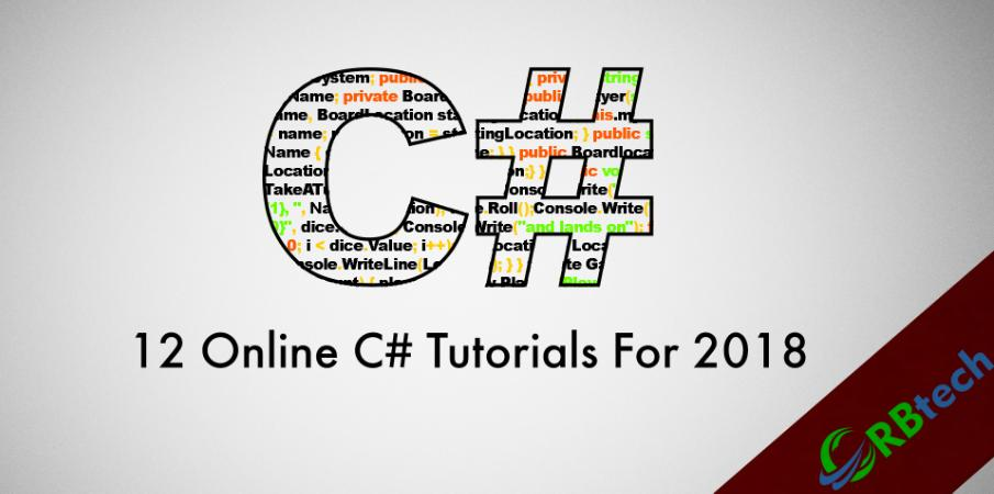 12 Online C# Tutorials For 2018