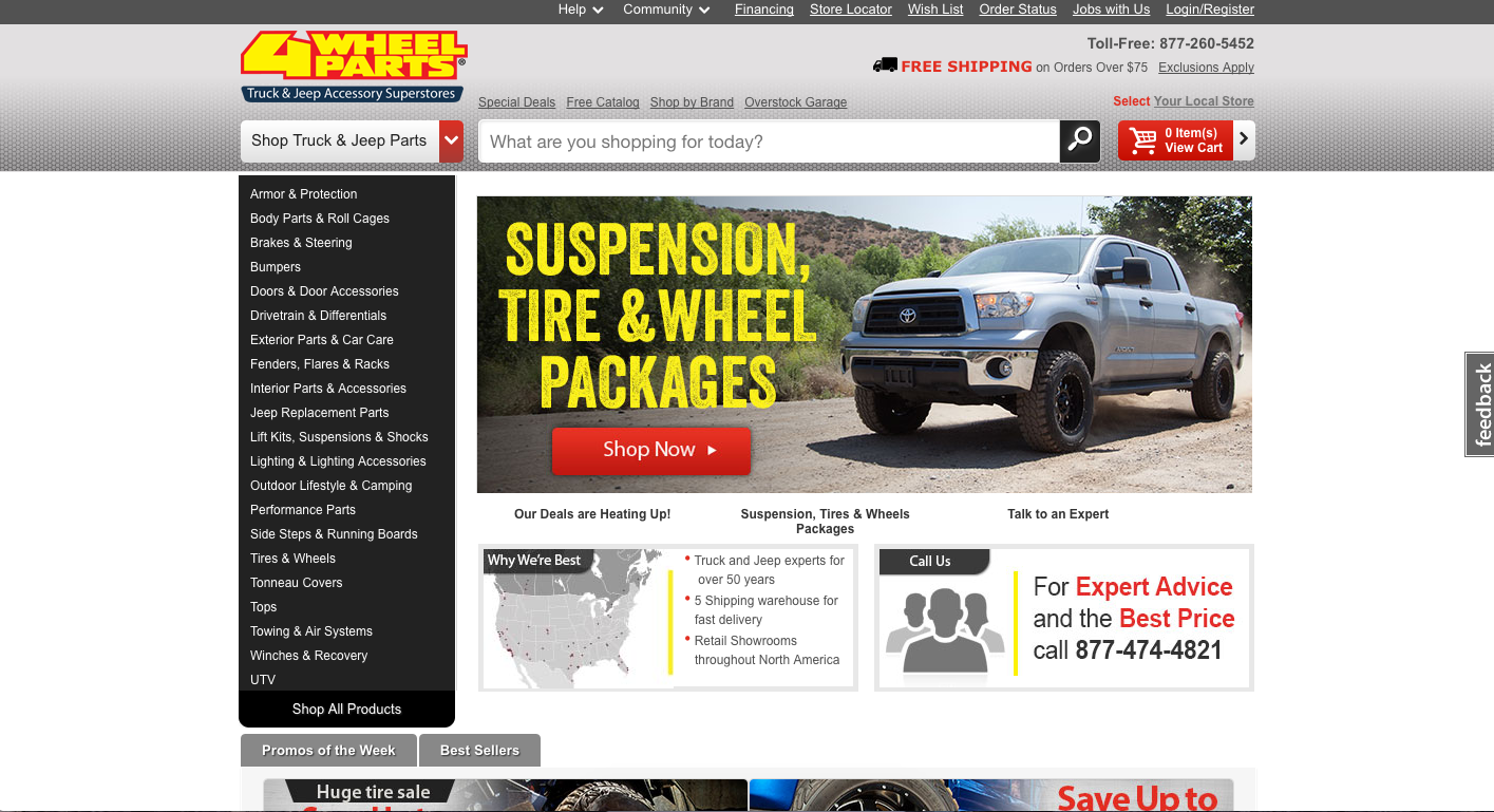 4 Wheel Parts Review