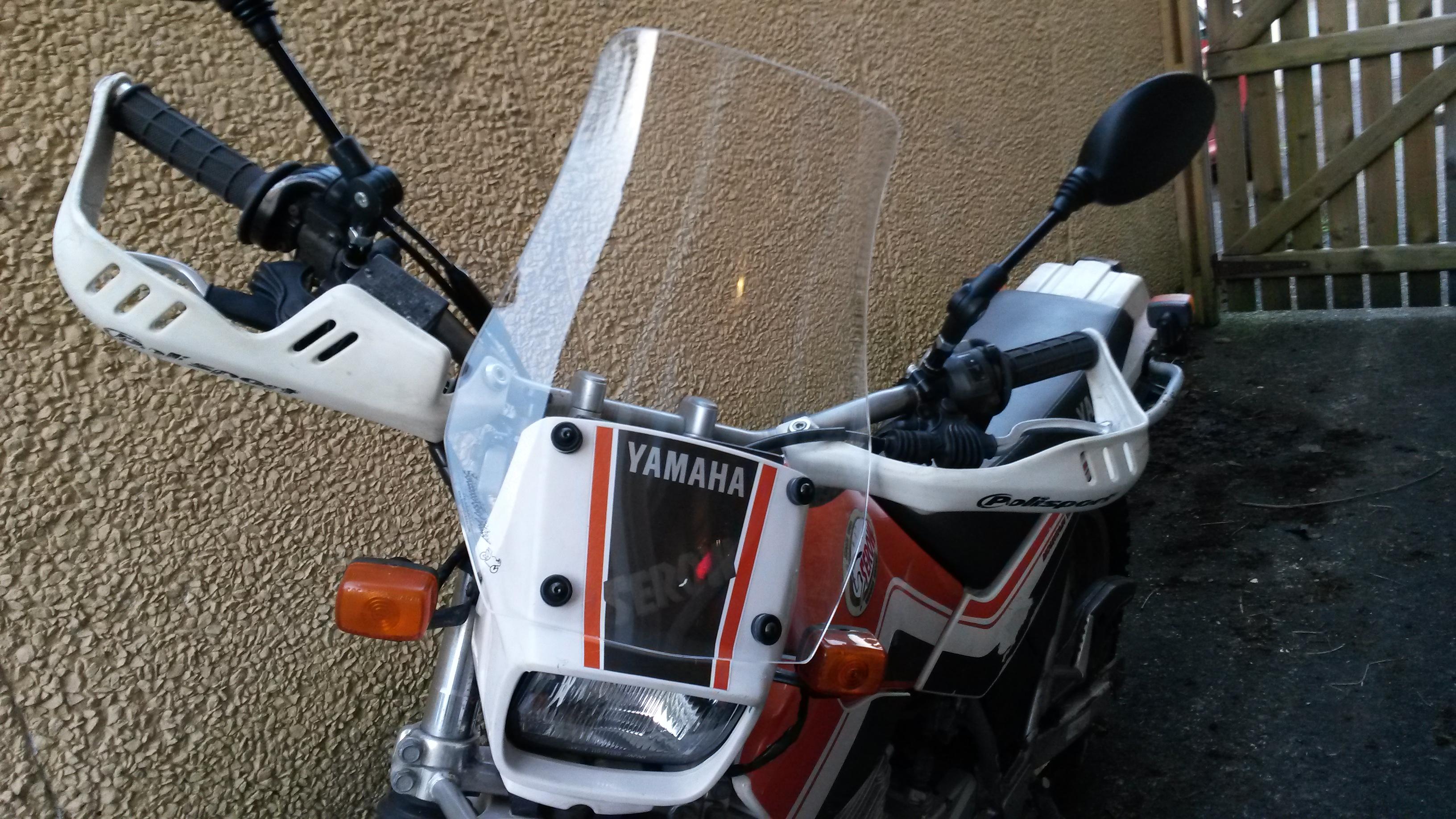 National Cycle Deflector Screen For Yamaha Xt