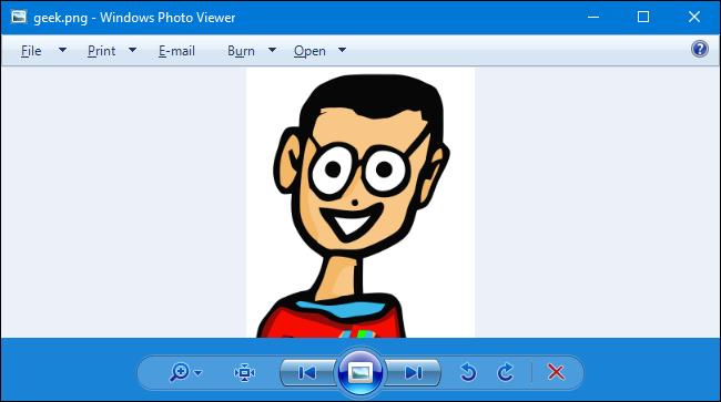 როგორ შეიძლება Photo Viewer დამატება windows 10-ში