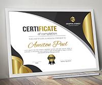 Modern Certificate - 2