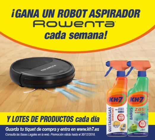 Gana con KH-7 un robot aspirador Rowenta cada semana y lotes de productos cada día